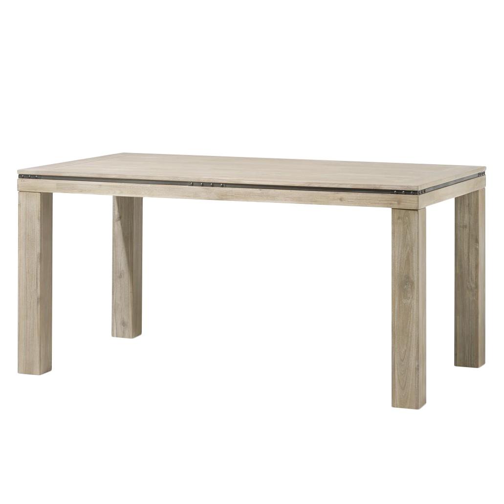 Home 24 - Table à manger panay i - acacia massif - 190 x 100 cm, habufa