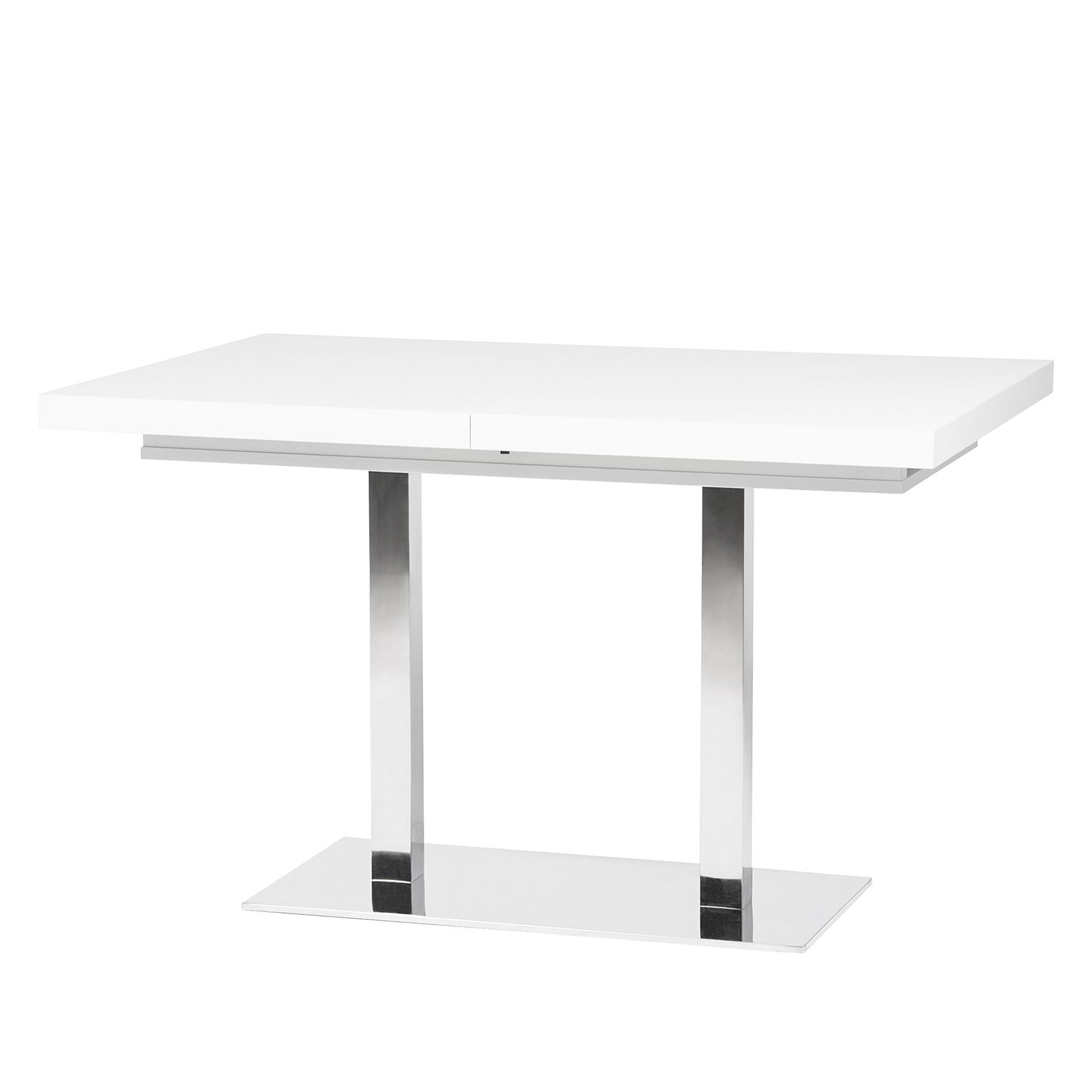 Table à manger Quadrati (extensible) - Blanc, mooved