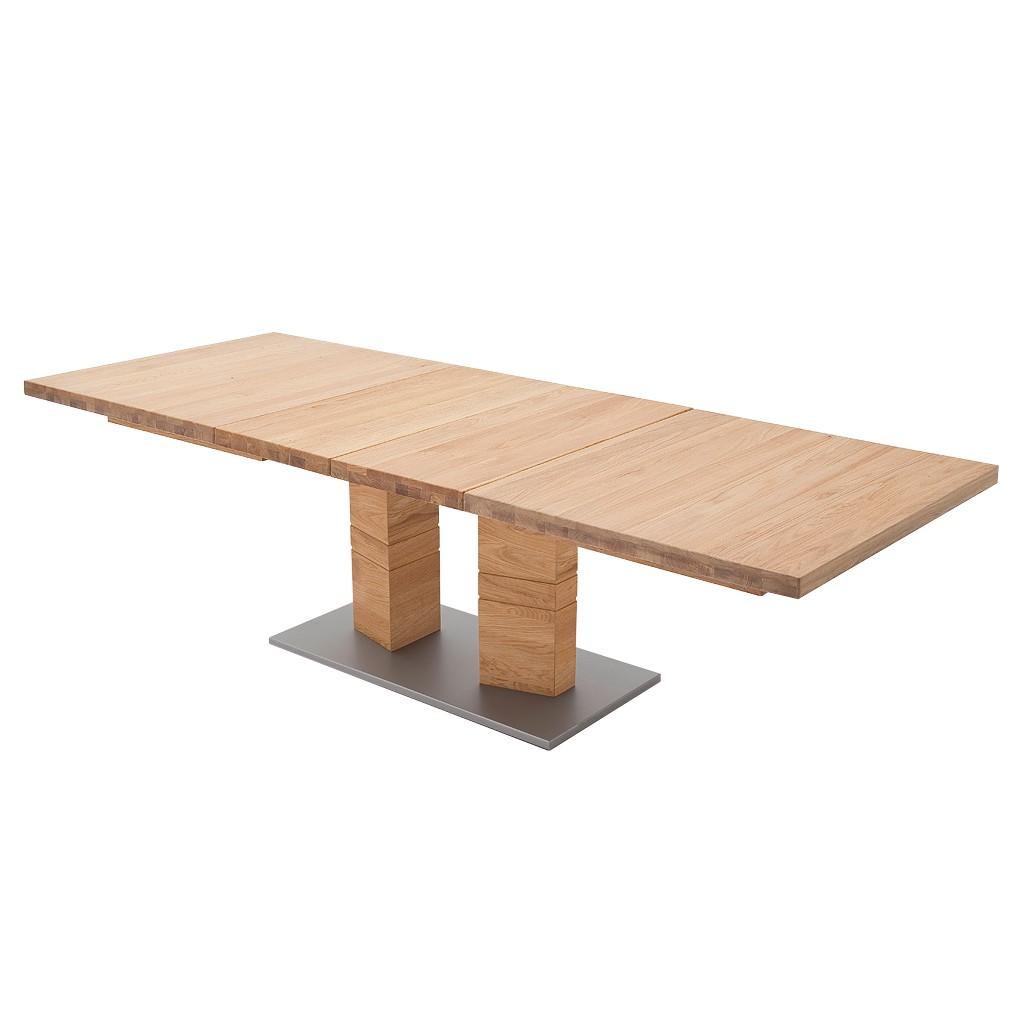 Home 24 - Table à manger quinn i - chêne sauvage - 180 x 100 cm, ars natura