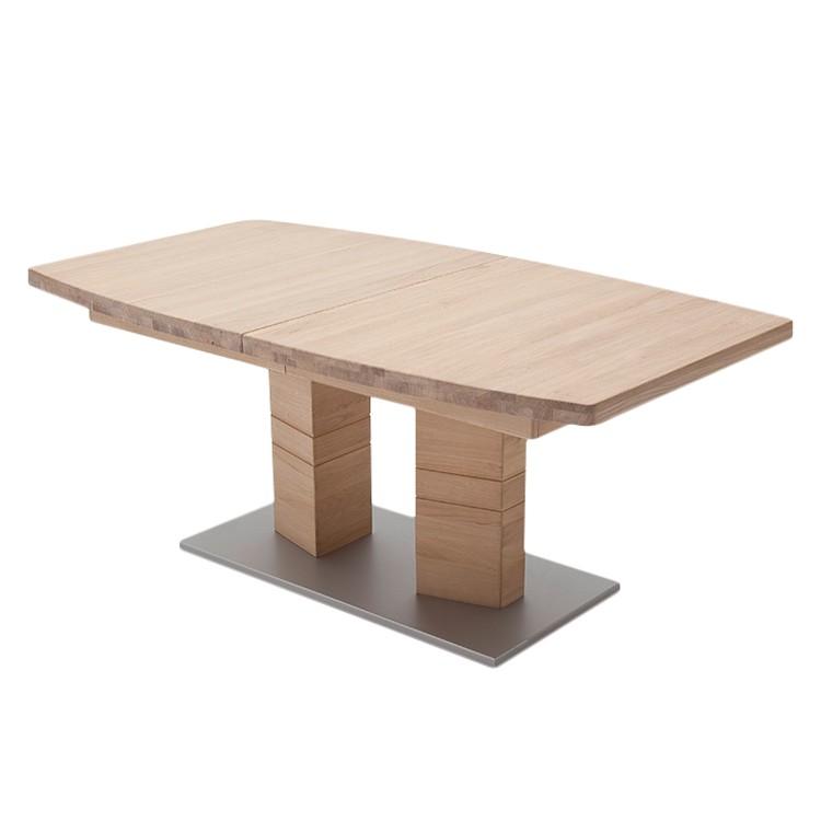 Home 24 - Table à manger quinn ii - chêne - 140 x 90 cm, ars natura