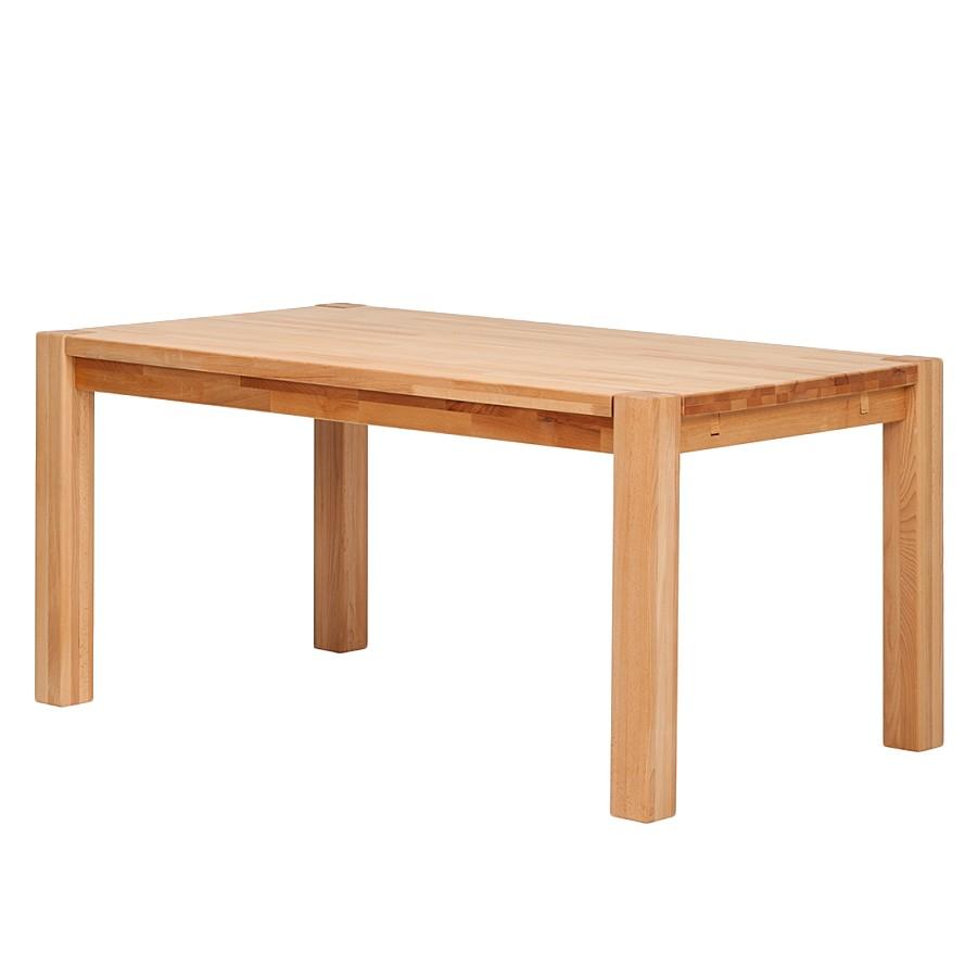 Table à manger Larissa (hêtre massif) - 160 x 90 cm, Ars Natura