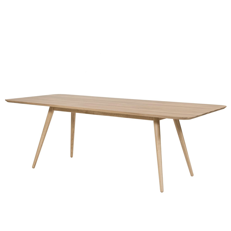 Eettafel Sander - massief eikenhout - Eikenhout - 140x90cm, Studio Copenhagen