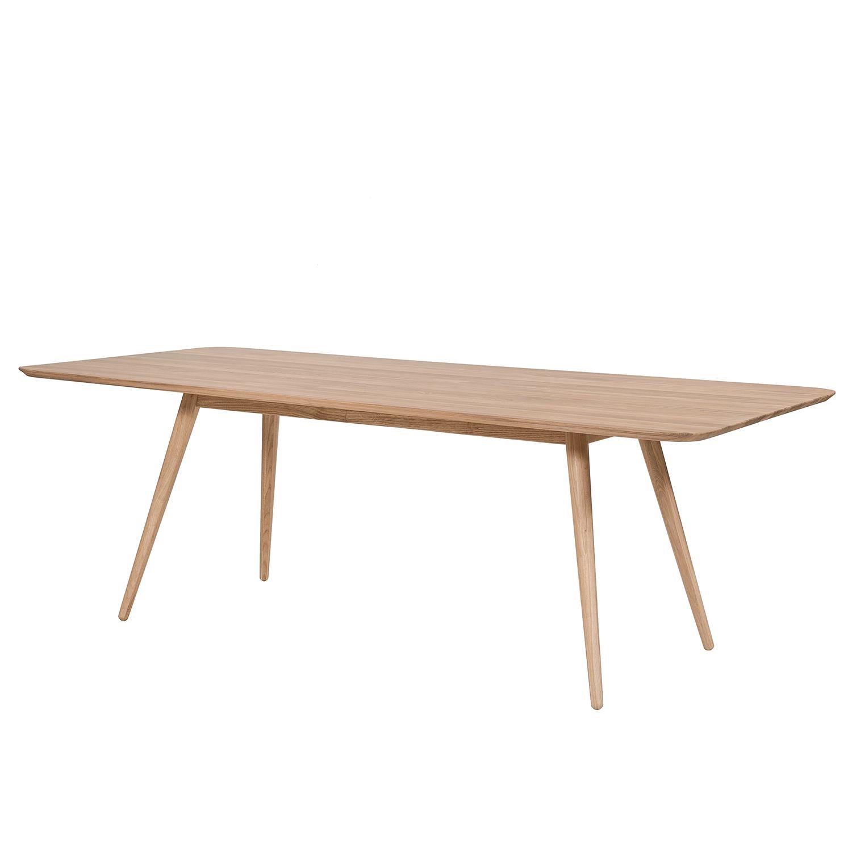 Table à manger Sander - Chêne massif - Chêne - 140 x 90 cm, Studio Copenhagen