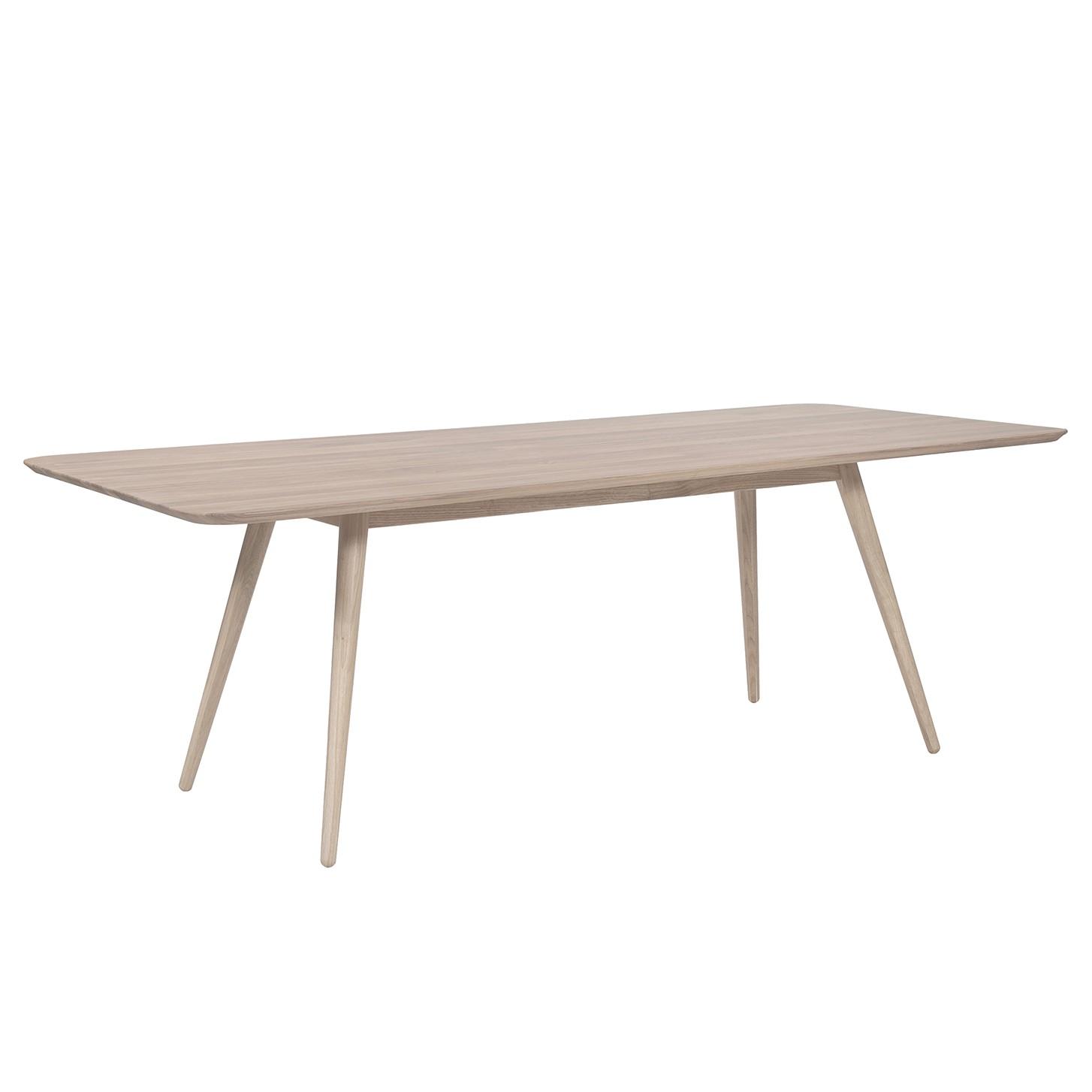 Eettafel Sander - massief eikenhout - Lichte eikenhouten - 180x90cm, Studio Copenhagen