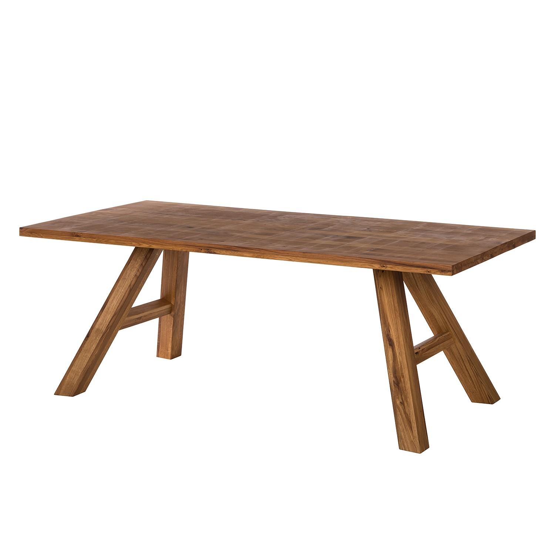 Table à manger SeliWOOD - Chêne - 180 x 100 cm, Ars Natura