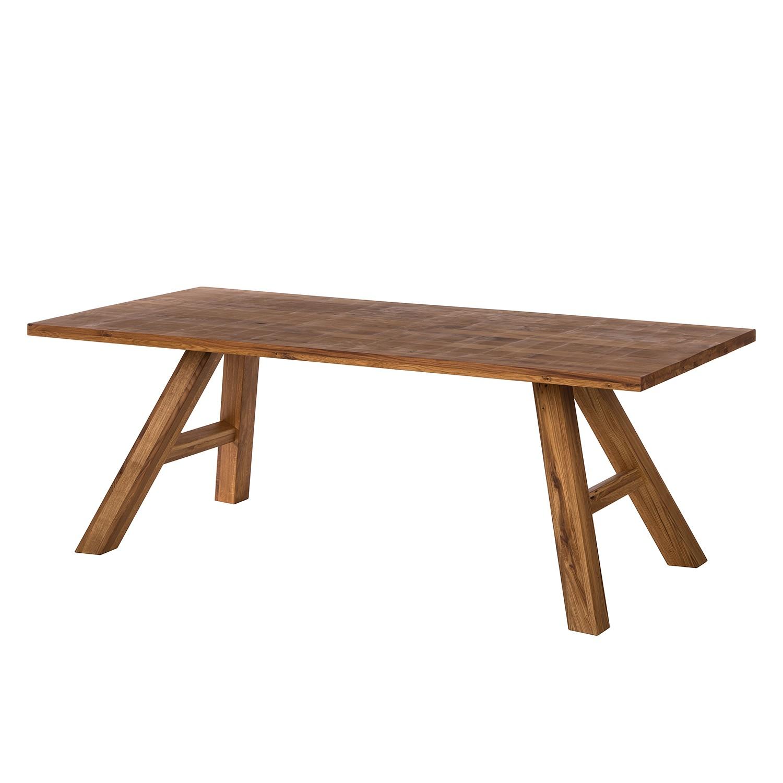 Table à manger SeliWOOD - Chêne - 200 x 100 cm, Ars Natura