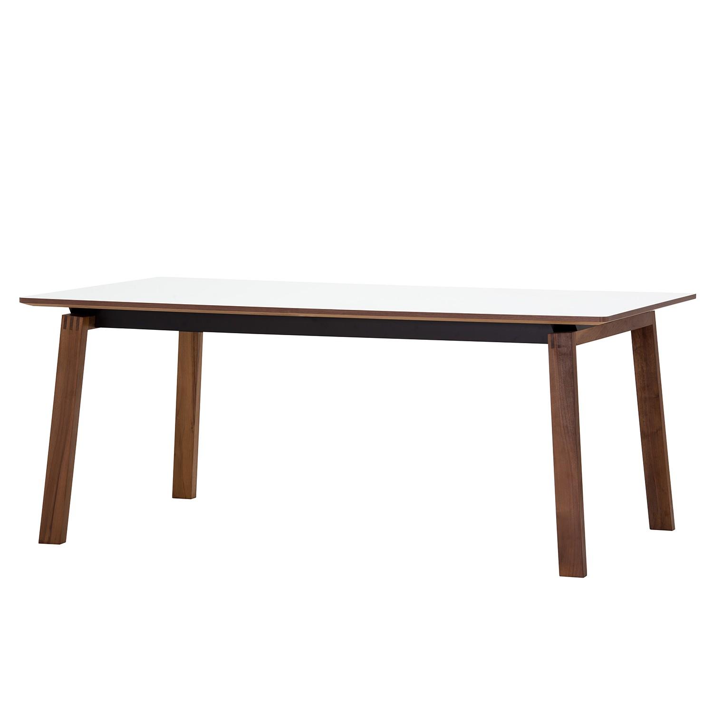Table à manger Stig I - Blanc / Noyer, Studio Copenhagen