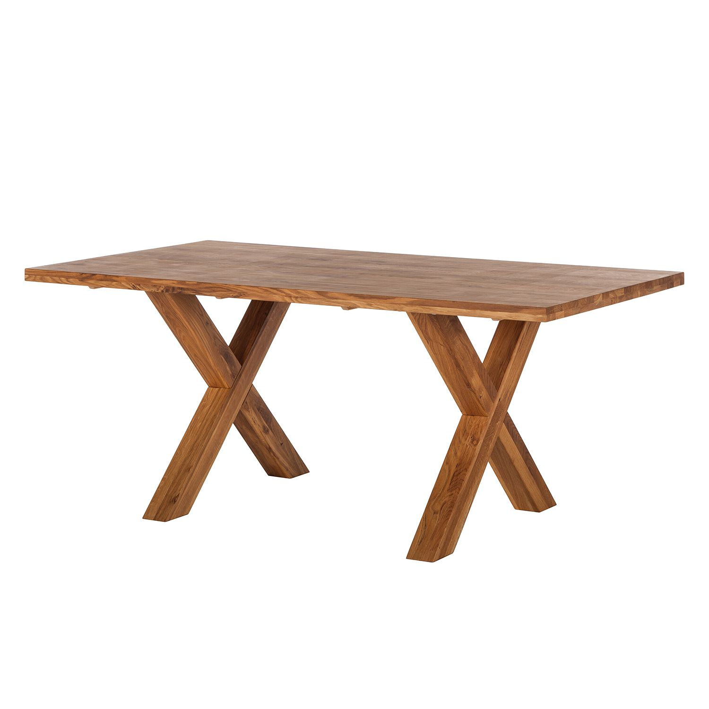 Table à manger SuluWOOD - Chêne - 180 x 100 cm, Ars Natura
