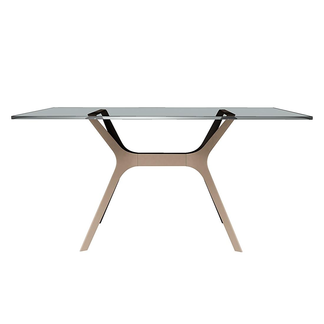 Table à manger Vela I - Sable - 120 x 80 cm, loftscape