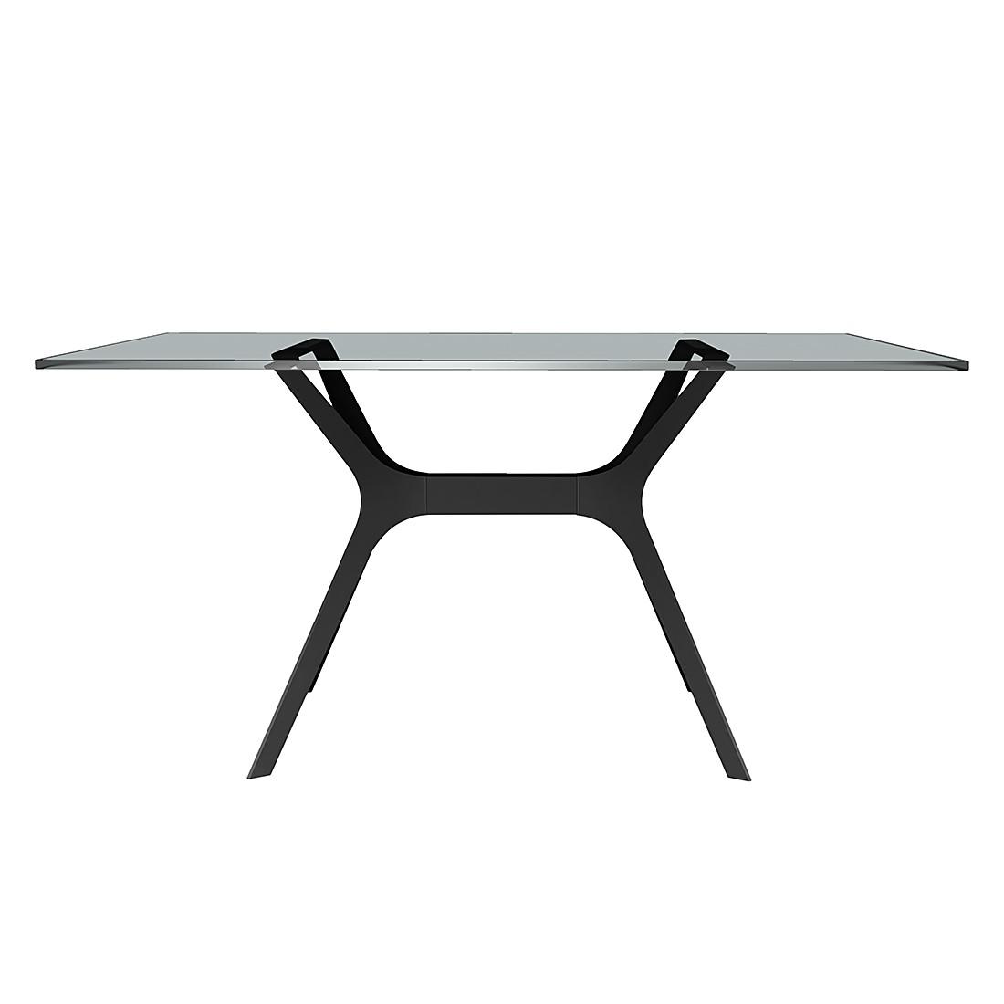 Table à manger Vela I - Noir - 120 x 80 cm, loftscape