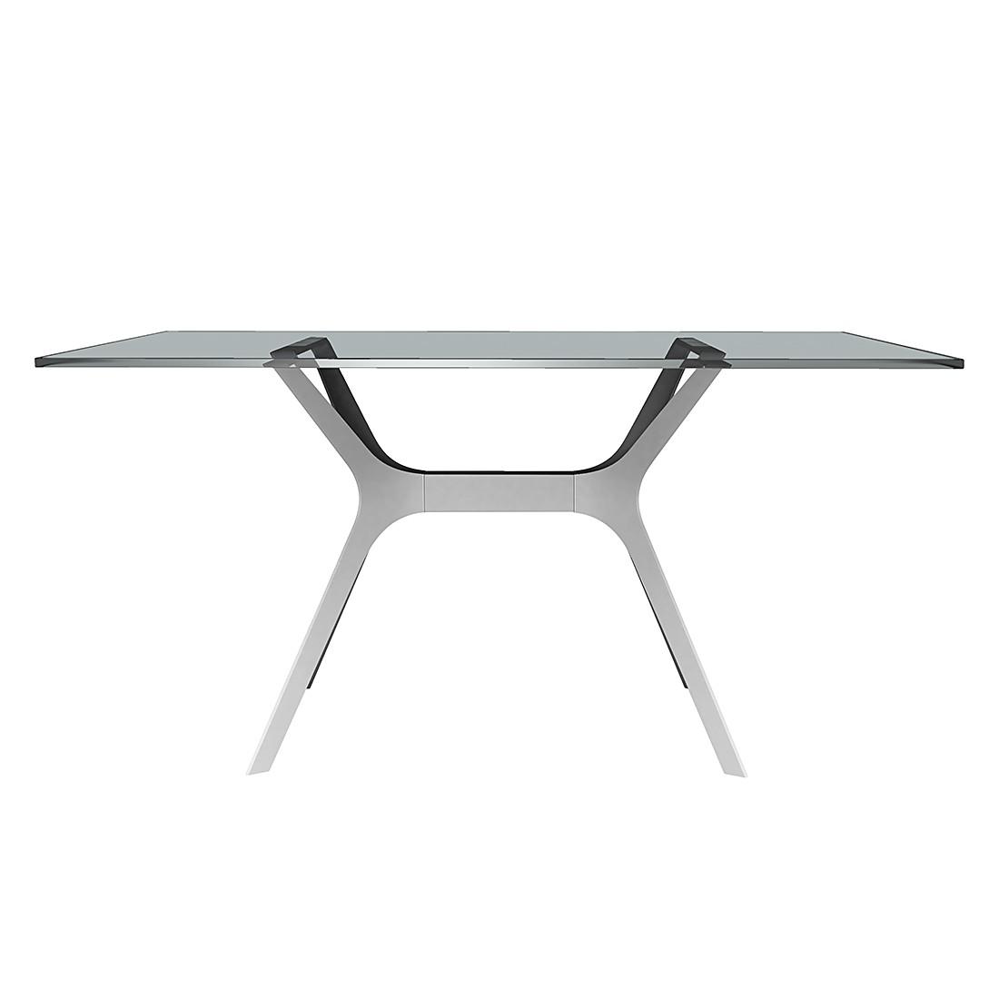 Table à manger Vela I - Blanc - 120 x 80 cm, loftscape
