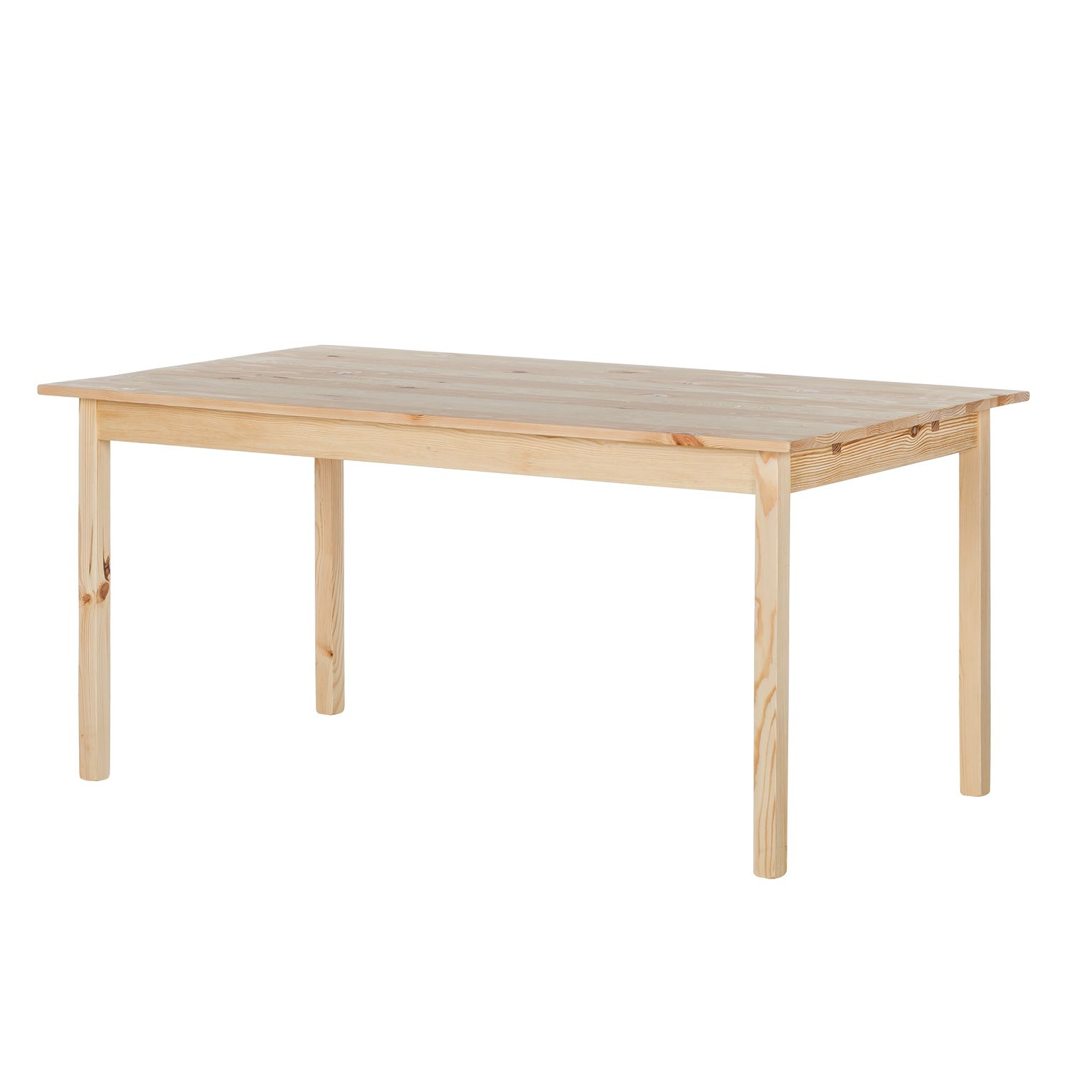 Table de salle à manger KiYDOO wood (extensible) - Pin massif, mooved