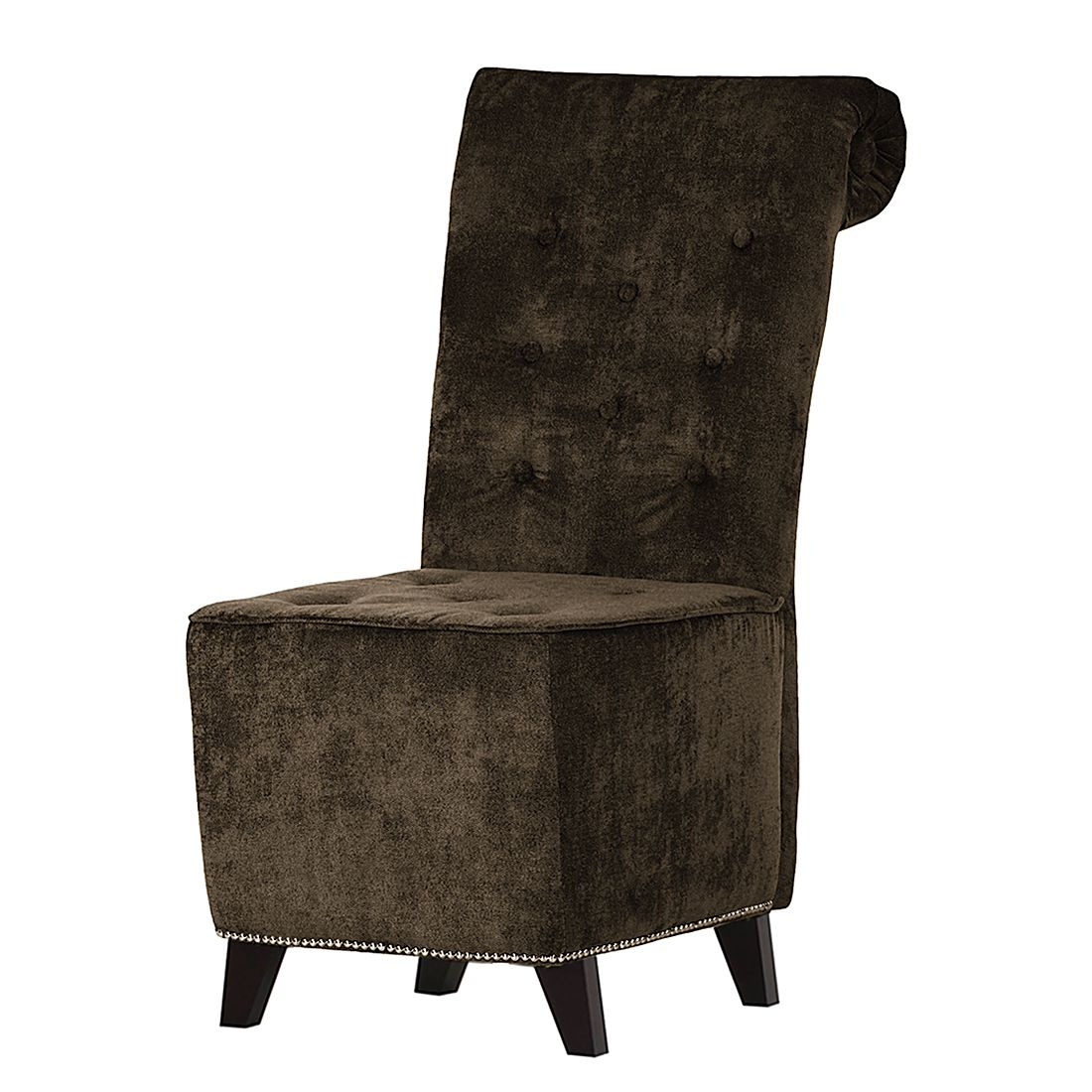 fauteuil de salon comodo ii microfibre marron jack and alice par jack and alice chez home24 fr. Black Bedroom Furniture Sets. Home Design Ideas