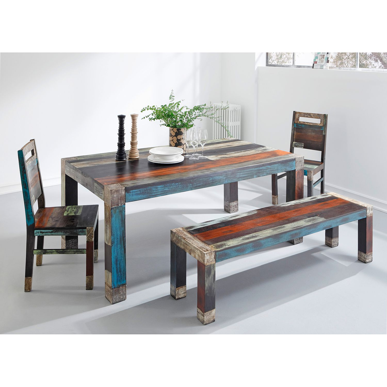 wolf m bel esszimmerstuhl goa 2er set mehrfarbig stuhl. Black Bedroom Furniture Sets. Home Design Ideas