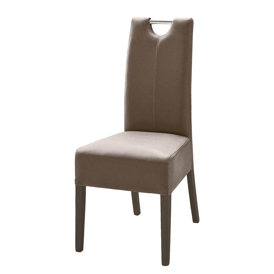 esszimmerstuhl lenya 2er set kunstleder cappuccino. Black Bedroom Furniture Sets. Home Design Ideas