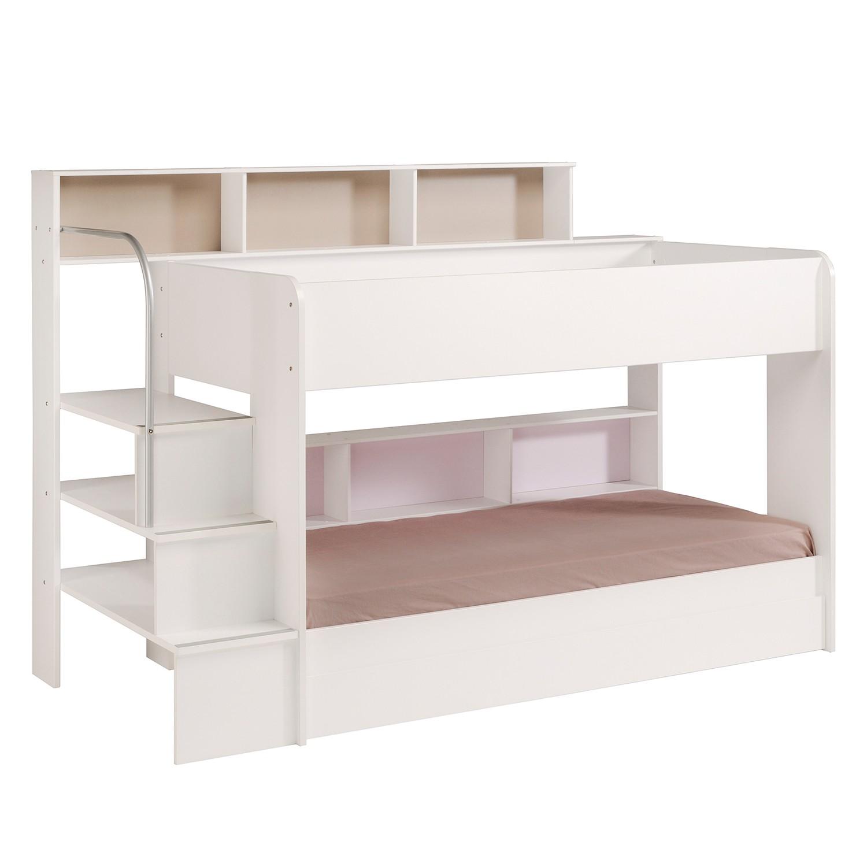 etagenbett wei preisvergleich die besten angebote. Black Bedroom Furniture Sets. Home Design Ideas