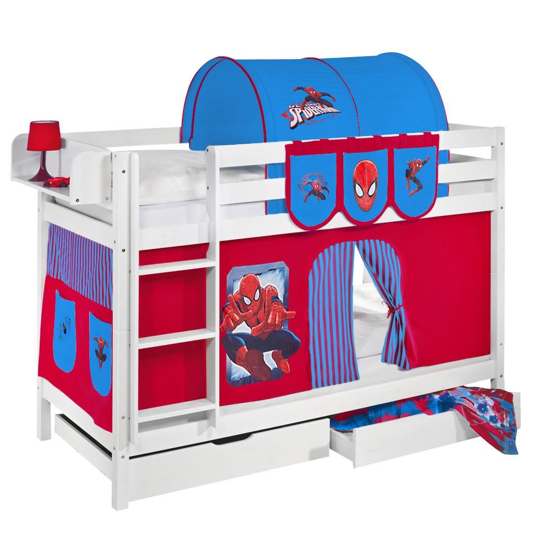 vorhang set spiderman inspiration f r die. Black Bedroom Furniture Sets. Home Design Ideas