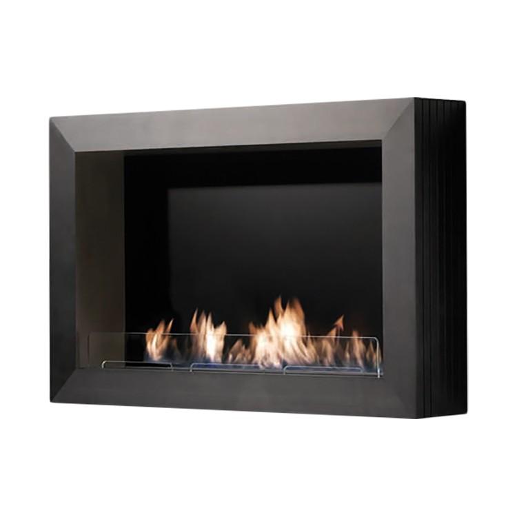 Home 24 - Cheminée éthanol atri - noir, ruby fires
