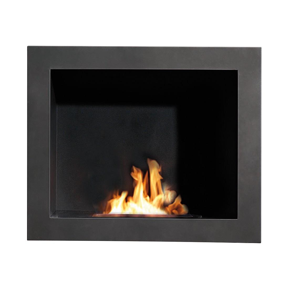 Home 24 - Cheminée éthanol quattro - anthracite, ruby fires