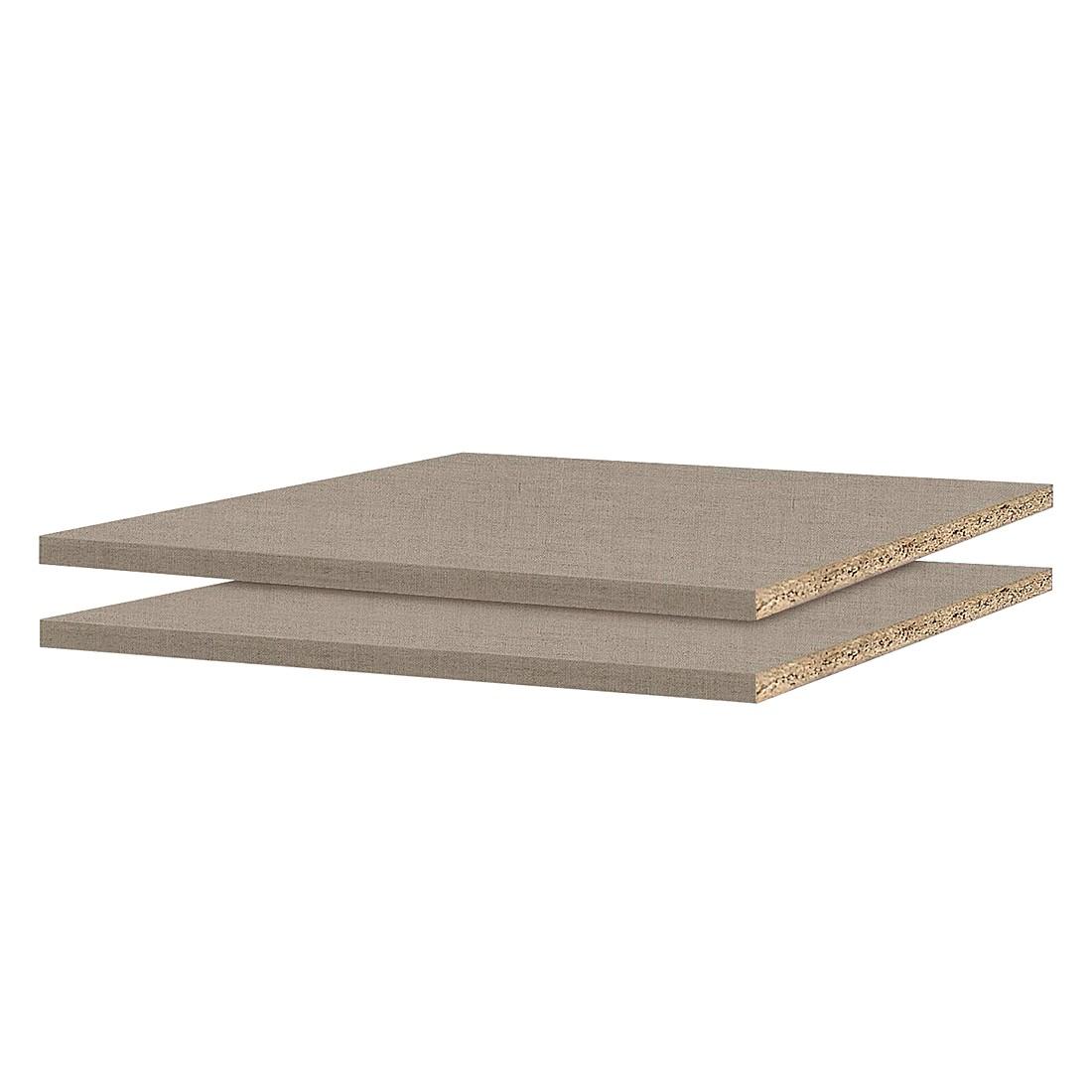 Home 24 - Tablette 90 cm (lot de 2) - pour profondeur d armoire 54 / 56 cm, rauch packs