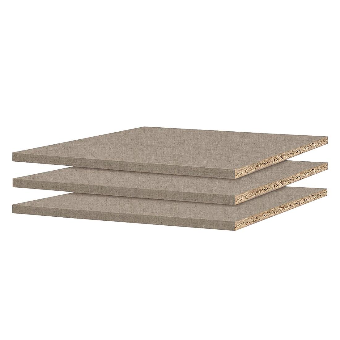Home 24 - Tablette 90 cm (lot de 3) - pour profondeur d armoire 54 / 56 cm, rauch packs