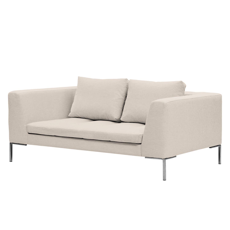 Sofa Madison (2-Sitzer) Webstoff - Stoff Saia Beige