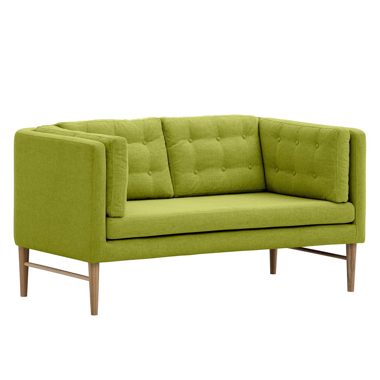 Sofa Tesoro (2-Sitzer) Webstoff - Stoff Anda II Grün