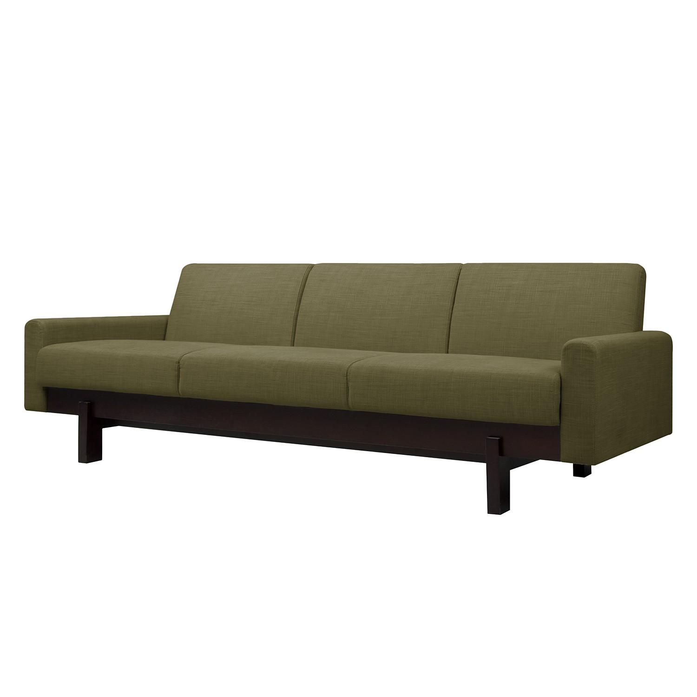 Sofa Paddington (3-Sitzer) Webstoff - Stoff Frea Grün