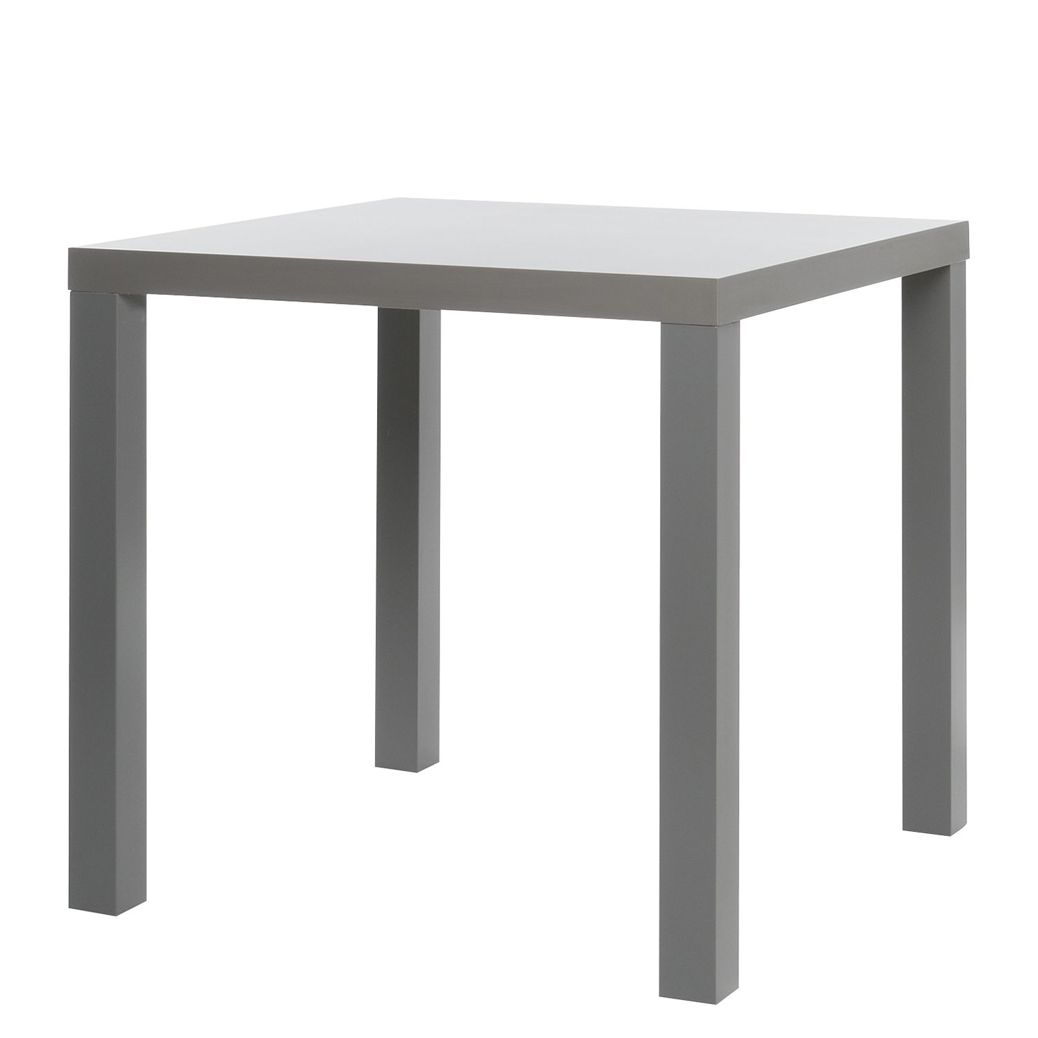 Table à manger Pamati - Gris - 80 x 80 cm, mooved