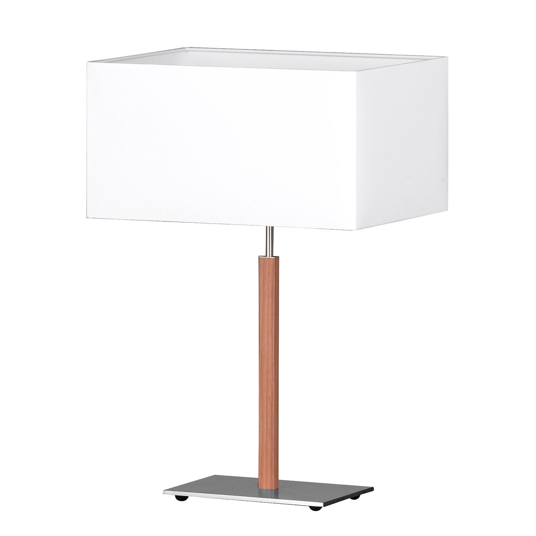 EEK A++, Lampe de table Casta - Tissu mélangé / Métal - 1 ampoule, Honsel