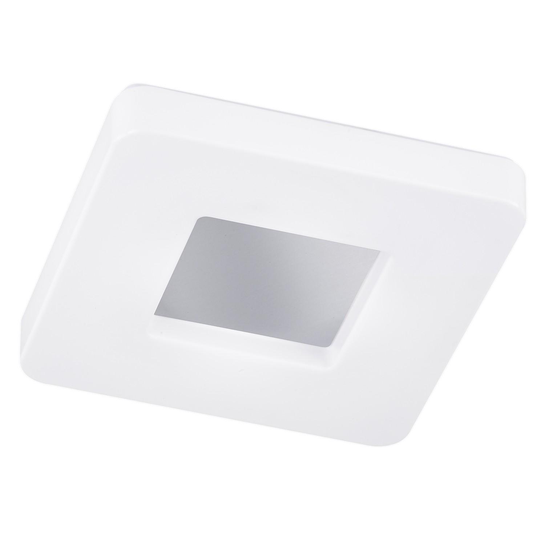 energie  A+, LED-plafondlamp Cookie II - acrylglas/aluminium - 1 lichtbron - 37, Honsel Leuchten
