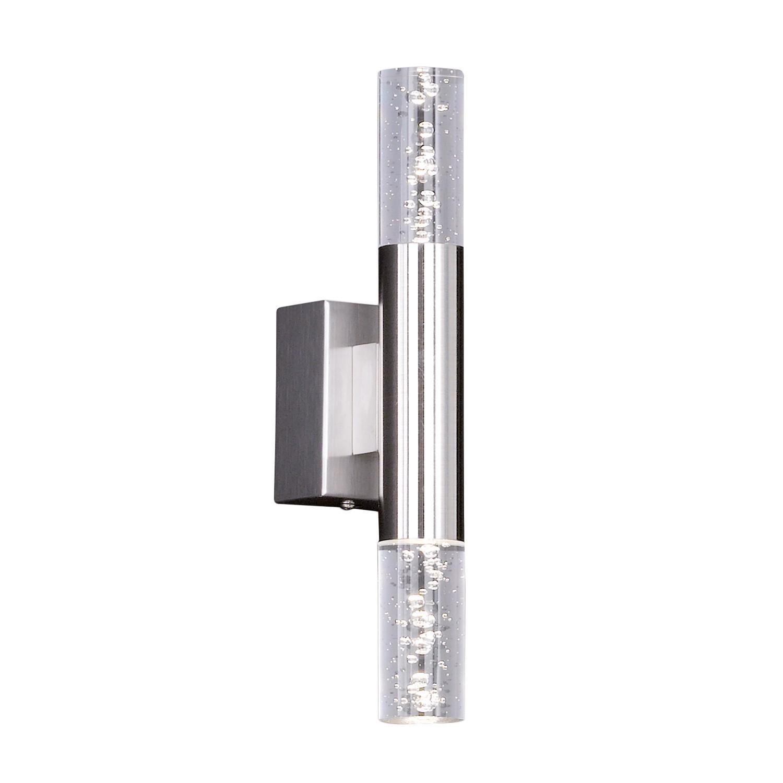energie  A+, LED-wandlamp Bubble II - plexiglas/ijzer - 2 lichtbronnen, Honsel Leuchten