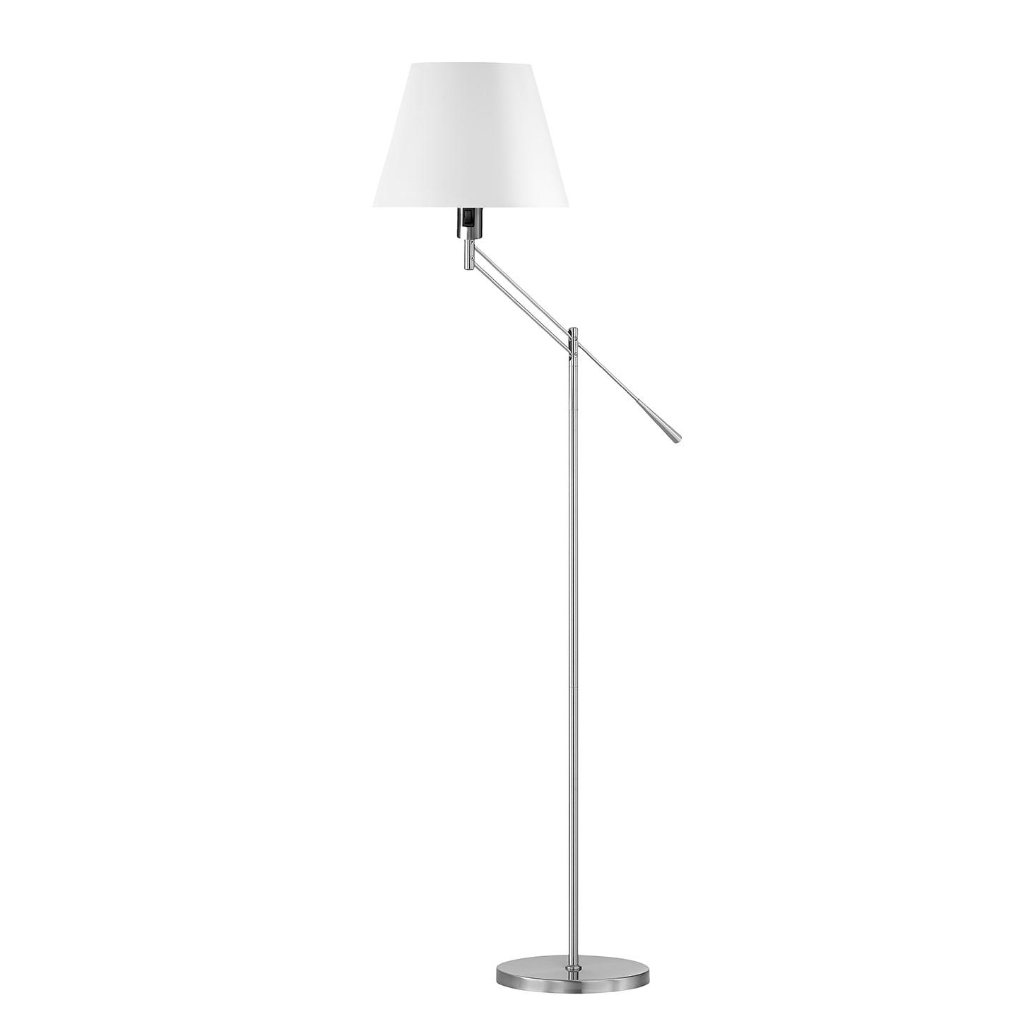 EEK A++, Lampadaire Lever I - Tissu / Fer - 1 ampoule, Honsel Leuchten