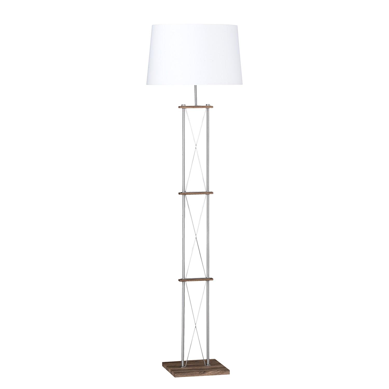 energie  A++, Staande lamp Xiamen I - geweven stof/ijzer - 2 lichtbronnen, Honsel Leuchten