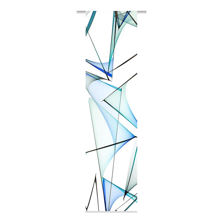 panneau japonais lugo tissu aqua fredriks meubles en ligne. Black Bedroom Furniture Sets. Home Design Ideas