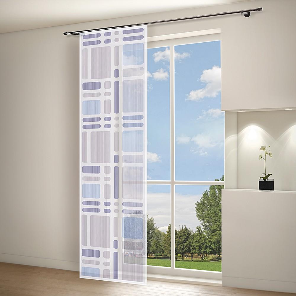 panneau rideau svenja marron prix et offres gerster. Black Bedroom Furniture Sets. Home Design Ideas