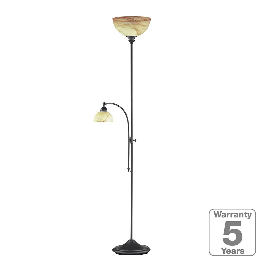 energie  A++, Staande lamp met leeslamp Lacchino - 2 lichtbronnen, Wofi