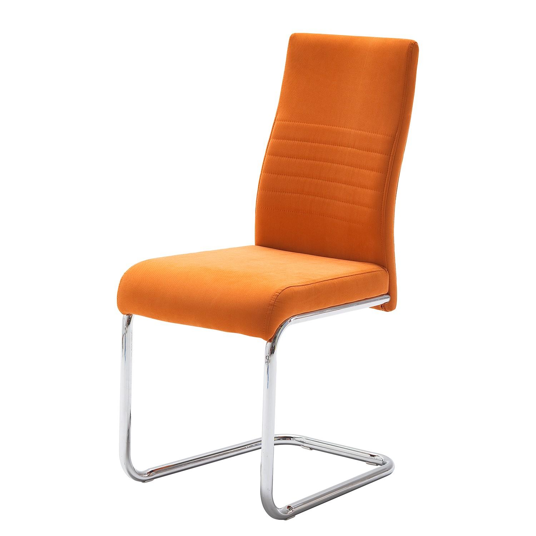 Sledestoelen Claras (4-delige set) - Oranje, mooved