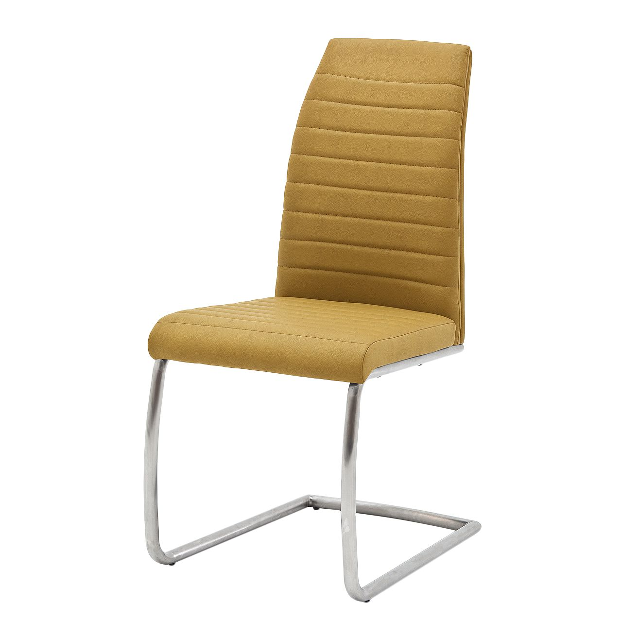 Home 24 - Chaise cantilever levittown i (lot de 2) - jaune curry, roomscape