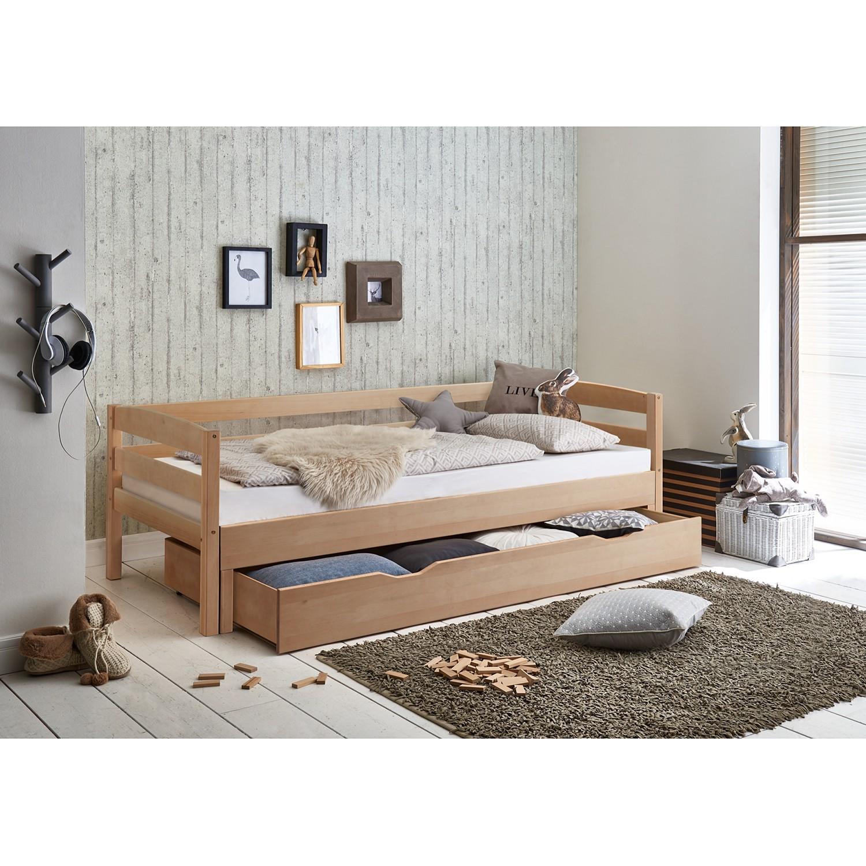 40 sparen funktionsbett emilia inkl lattenrost nur 449 99 cherry m bel home24. Black Bedroom Furniture Sets. Home Design Ideas