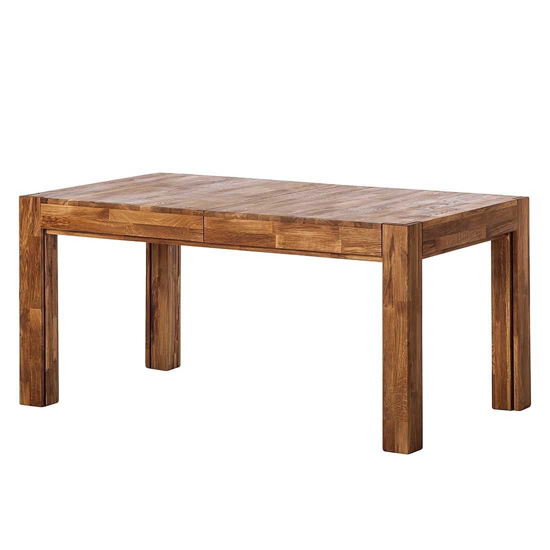 Table à manger KimWOOD II (avec rallonge) - Chêne massif - Chêne, Ars Natura