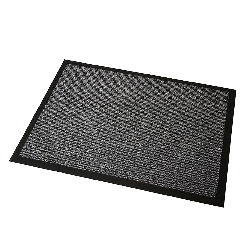 Deurmat Faro - grijs - maat: 90x120cm, Hanse Home Collection