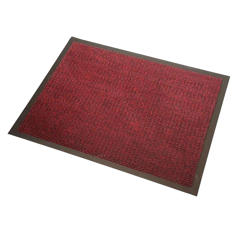 Fuß- & Sauberlaufmatte Faro - Rot - 40 x 60 cm,...