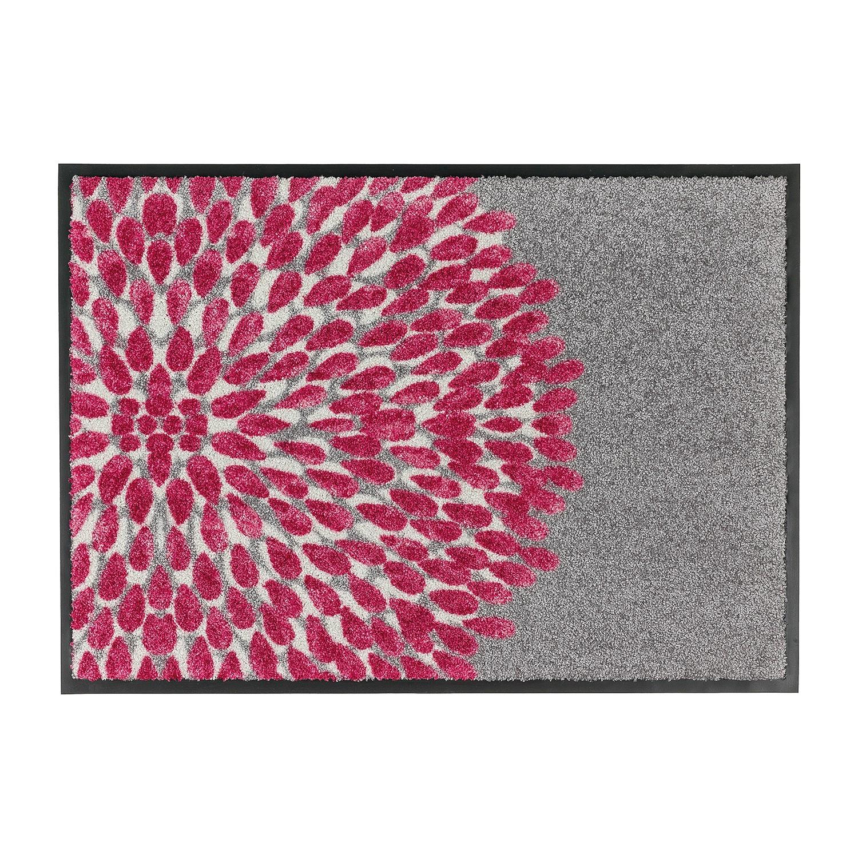 Deurmat Broadway I - kunstvezel - Grijs/pink - 50 x70 cm, Schöner Wohnen Kollektion