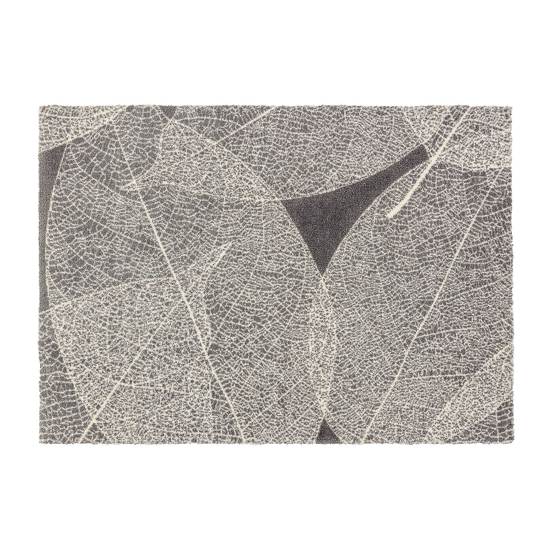 Deurmat Brooklyn V - kunstvezel - grijs/crèmekleurig - 50 x70 cm, Schöner Wohnen Kollektion