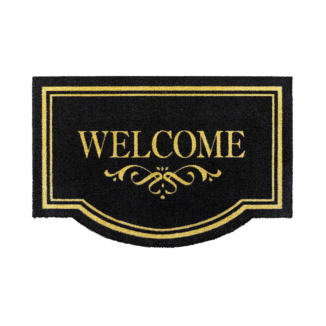 Deurmat Welcome - zwart, Hanse Home Collection
