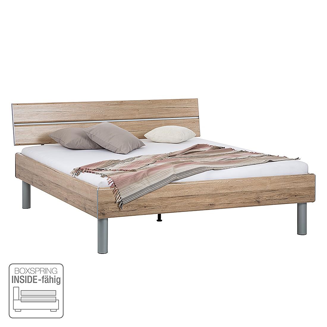 Lit futon Mavi - Imitation chêne de San Remo, Rauch Select