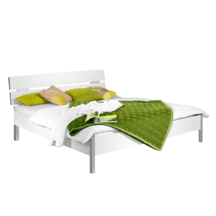 Lit futon Quadra - Blanc alpin - 140 x 200cm, Rauch Packs