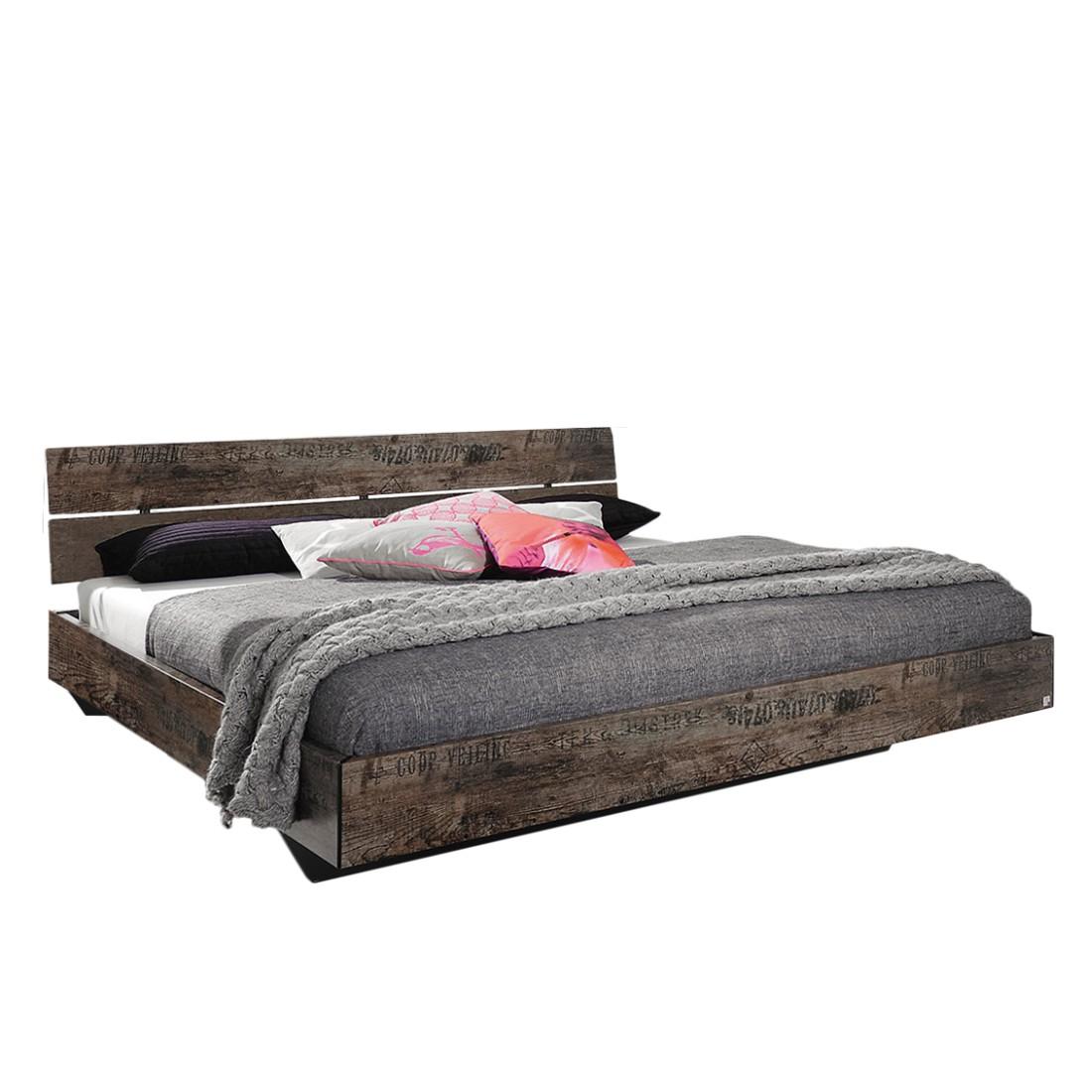 Lit futon Sumatra - 140 x 200cm - Marron vintage, Rauch Select