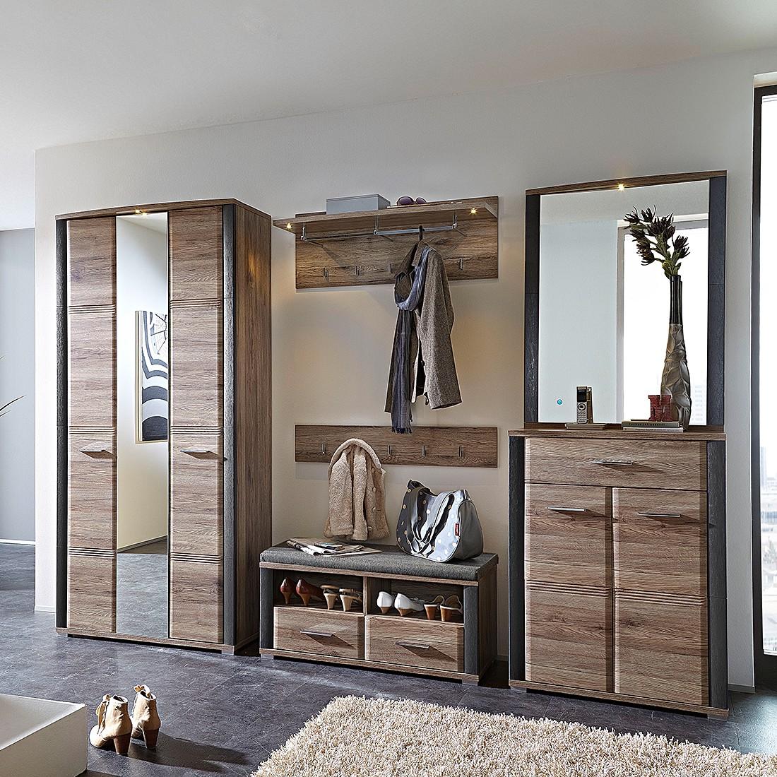 garderobe eiche preisvergleich die besten angebote online kaufen. Black Bedroom Furniture Sets. Home Design Ideas